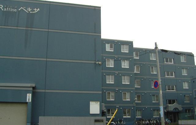 北海道札幌市東区、新道東駅徒歩16分の築27年 5階建の賃貸マンション