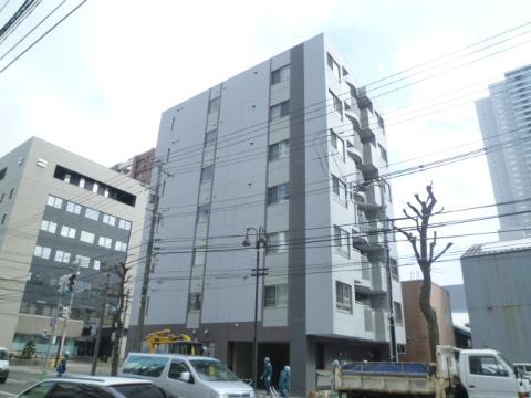 北海道札幌市中央区、バスセンター前駅徒歩4分の築6年 7階建の賃貸マンション