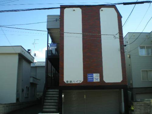 北海道札幌市東区、新道東駅徒歩19分の築32年 2階建の賃貸アパート