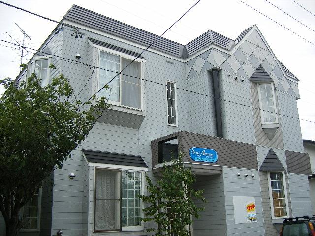 北海道札幌市東区、元町駅徒歩9分の築27年 2階建の賃貸アパート