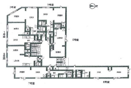 キラメック円山北[1LDK/31.35m2]の配置図