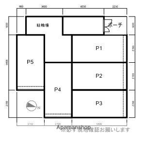 スクエアコート[1LDK/29.39m2]の配置図