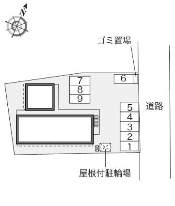 レオパレスオーロラ41[1K/23.18m2]の内装1