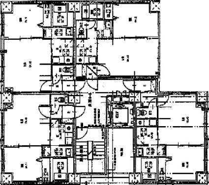 willDo北24条[1LDK/34.77m2]の配置図