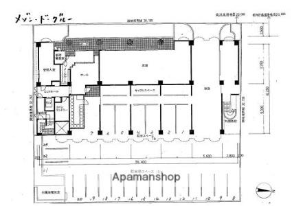 メゾン・ド・グルー[1K/15.56m2]の配置図