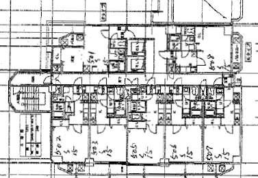 スカイヒルズN15[1K/31.98m2]の配置図