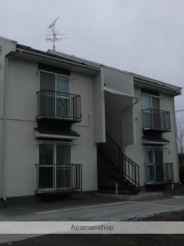 青森県三戸郡階上町の築29年 2階建の賃貸アパート