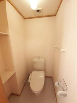 ベルソレイユ弐番館[2LDK/54.15m2]のトイレ