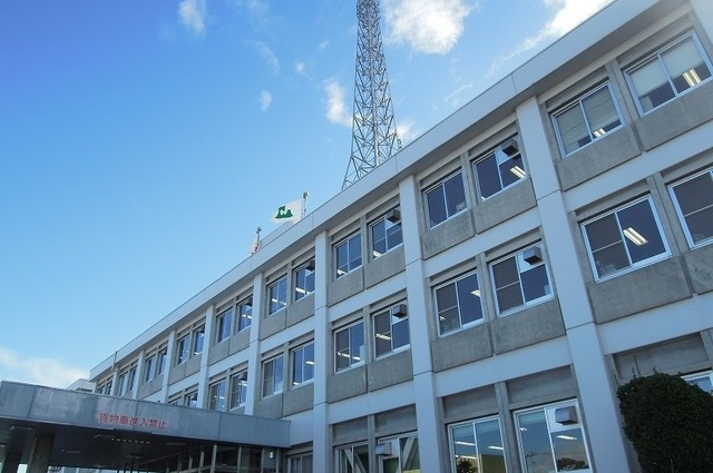八戸合同庁舎 950m