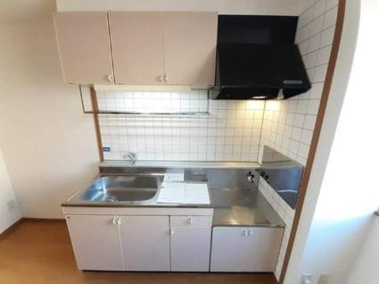 ジャルディーノC[2DK/45.35m2]のキッチン