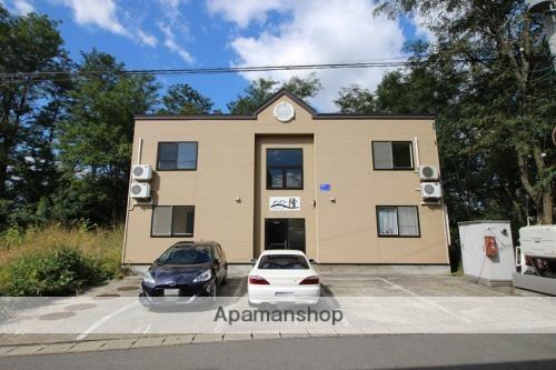 青森県青森市の築16年 2階建の賃貸アパート