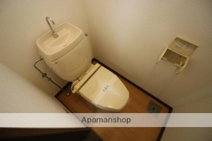 メゾンサンヒルズ[1K/29.81m2]のトイレ