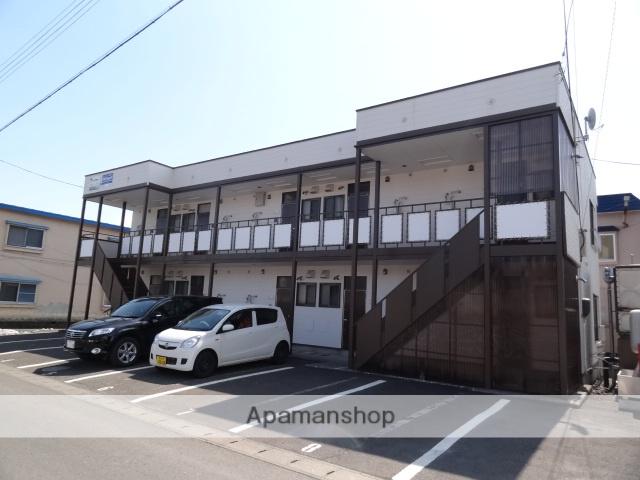 青森県弘前市、中央弘前駅徒歩15分の築33年 2階建の賃貸アパート
