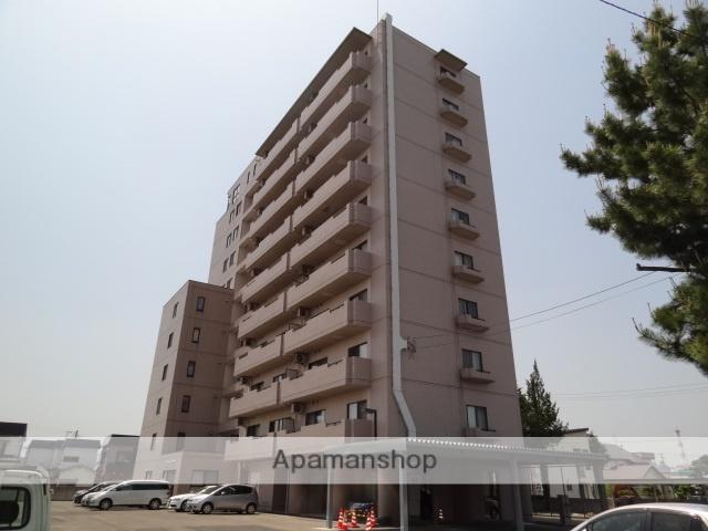 青森県弘前市の築24年 11階建の賃貸マンション