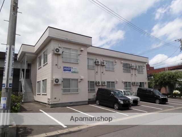 青森県弘前市、弘前駅徒歩6分の築25年 2階建の賃貸アパート