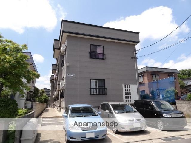 青森県弘前市の築15年 2階建の賃貸アパート