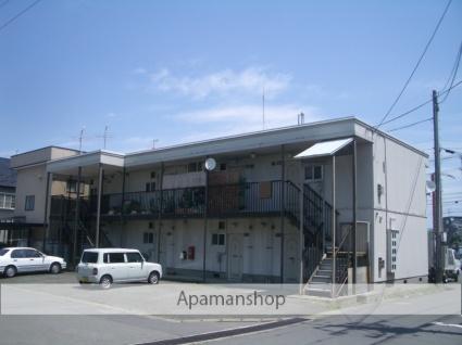 青森県弘前市、弘前駅徒歩25分の築34年 2階建の賃貸アパート