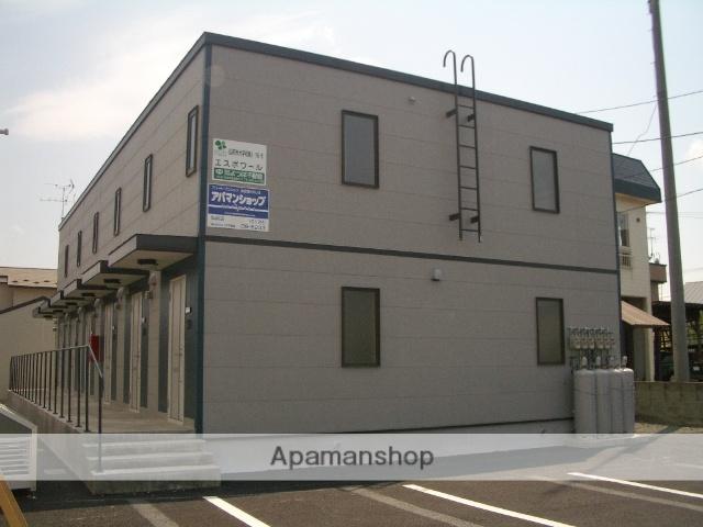 青森県弘前市の築10年 2階建の賃貸アパート