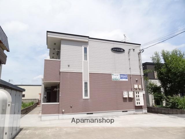 青森県弘前市、弘前駅徒歩17分の築15年 2階建の賃貸アパート