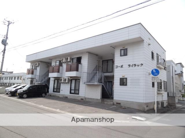 青森県弘前市、弘前駅徒歩7分の築30年 2階建の賃貸アパート