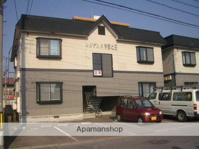 青森県弘前市、弘前駅徒歩10分の築21年 2階建の賃貸アパート