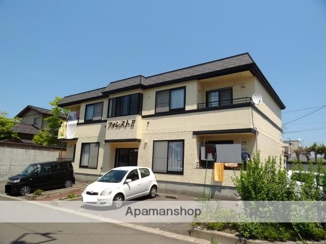 青森県弘前市の築21年 2階建の賃貸アパート