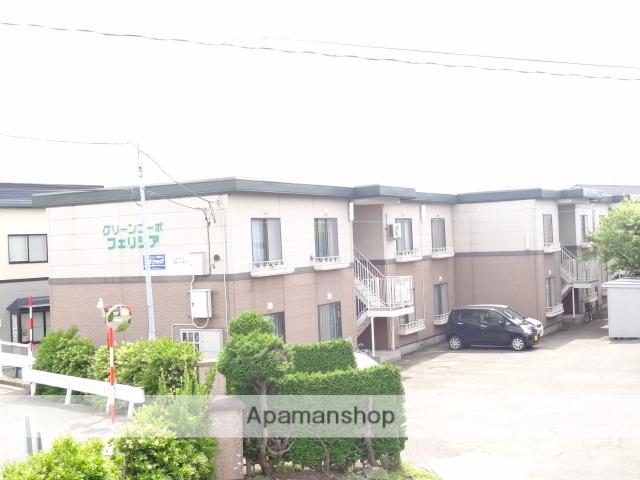 青森県弘前市、弘前駅徒歩25分の築32年 2階建の賃貸アパート