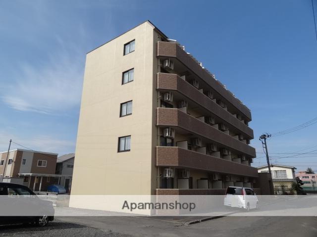 青森県弘前市、弘前学院大前駅徒歩8分の築25年 5階建の賃貸マンション