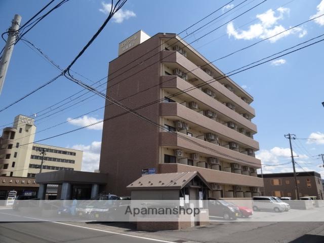 青森県弘前市、弘前学院大前駅徒歩8分の築25年 6階建の賃貸マンション