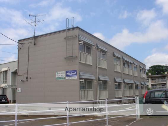 青森県弘前市、弘高下駅徒歩18分の築33年 2階建の賃貸アパート