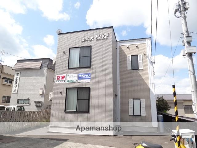 青森県弘前市、弘前駅徒歩17分の築18年 2階建の賃貸アパート