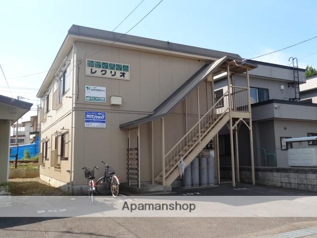 青森県弘前市、弘前駅徒歩40分の築26年 2階建の賃貸アパート