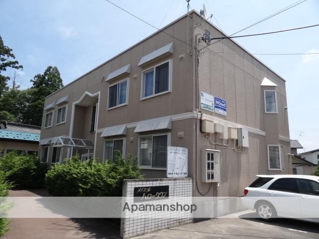青森県弘前市の築24年 2階建の賃貸アパート