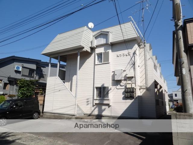 青森県弘前市、聖愛中高前駅徒歩13分の築27年 2階建の賃貸アパート