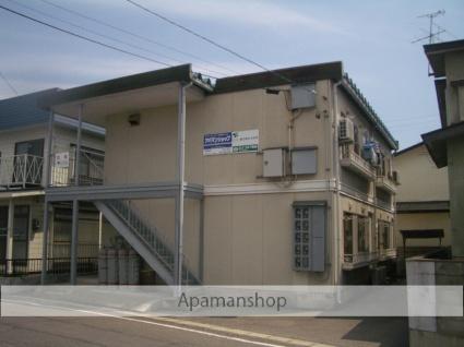 青森県弘前市、聖愛中高前駅徒歩5分の築32年 2階建の賃貸アパート