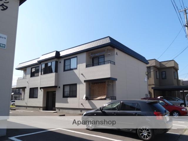 青森県弘前市の築19年 2階建の賃貸アパート