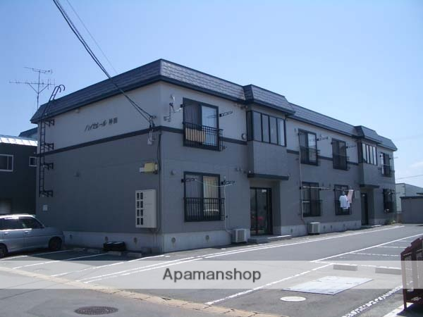 青森県弘前市、撫牛子駅徒歩12分の築18年 2階建の賃貸アパート