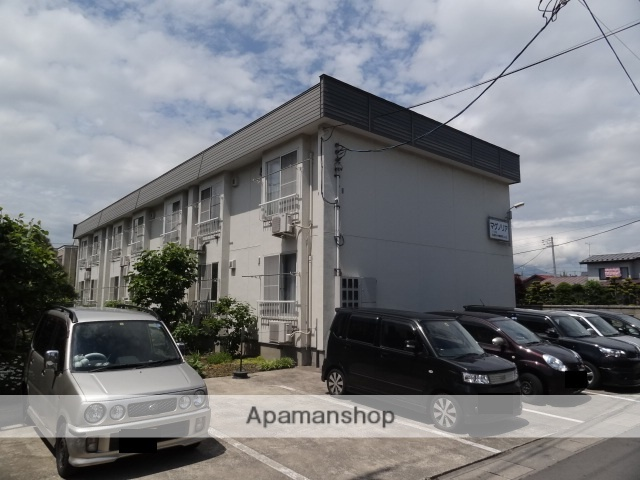 青森県弘前市、弘前駅徒歩15分の築23年 2階建の賃貸アパート