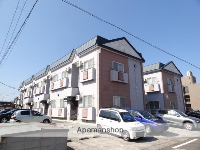 青森県弘前市、弘前駅徒歩13分の築20年 2階建の賃貸アパート