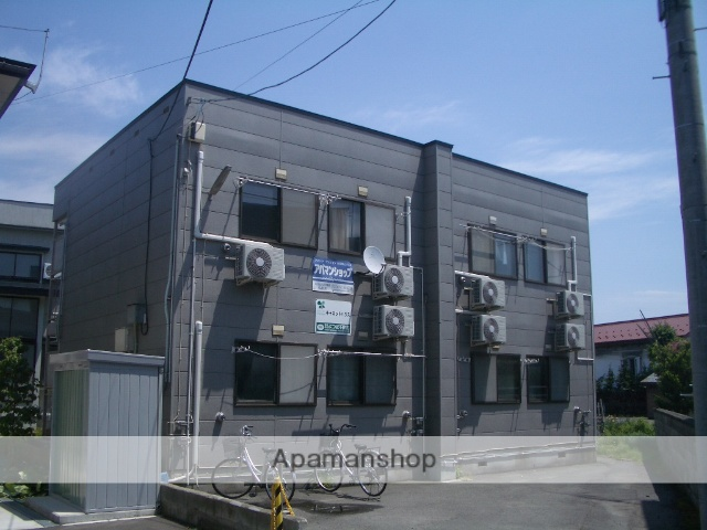 青森県弘前市、弘前駅徒歩15分の築32年 2階建の賃貸アパート