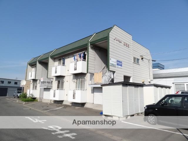 青森県弘前市、弘前駅徒歩30分の築27年 2階建の賃貸アパート