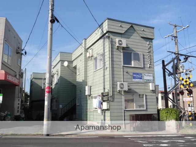 青森県弘前市、弘前駅徒歩20分の築27年 2階建の賃貸アパート