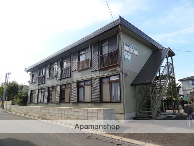 青森県弘前市、弘前駅徒歩30分の築33年 2階建の賃貸アパート