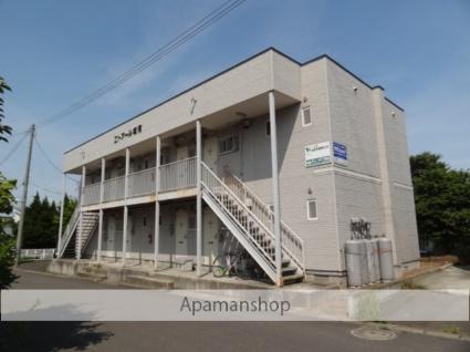 青森県弘前市の築26年 2階建の賃貸アパート