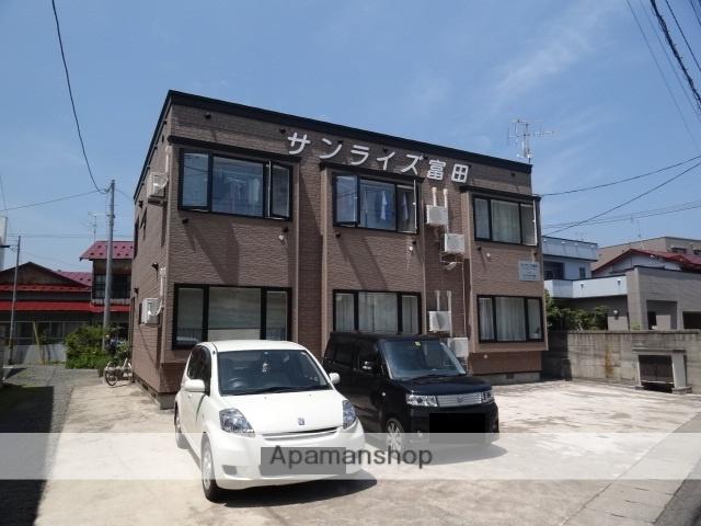 青森県弘前市、弘前駅徒歩20分の築16年 2階建の賃貸アパート