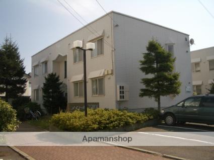 青森県弘前市、弘前東高前駅徒歩10分の築27年 2階建の賃貸アパート