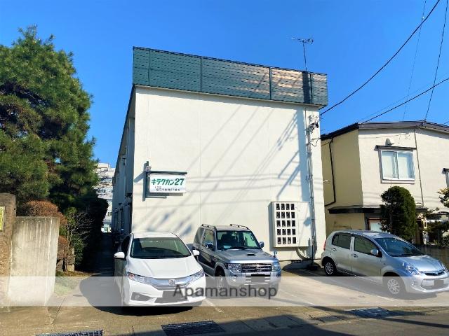 青森県弘前市、弘前駅徒歩15分の築27年 2階建の賃貸アパート