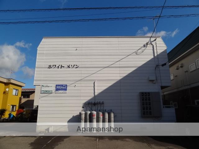 青森県弘前市、弘前駅徒歩10分の築28年 2階建の賃貸アパート