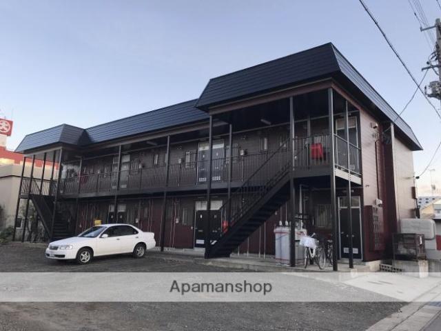 青森県弘前市、弘前駅徒歩10分の築30年 2階建の賃貸アパート