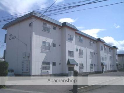 青森県弘前市、千年駅徒歩3分の築32年 3階建の賃貸アパート